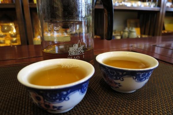 桂花烏龍茶 茶湯