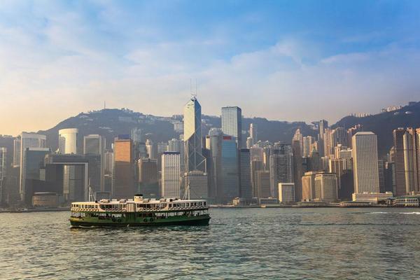 中国の入り口香港