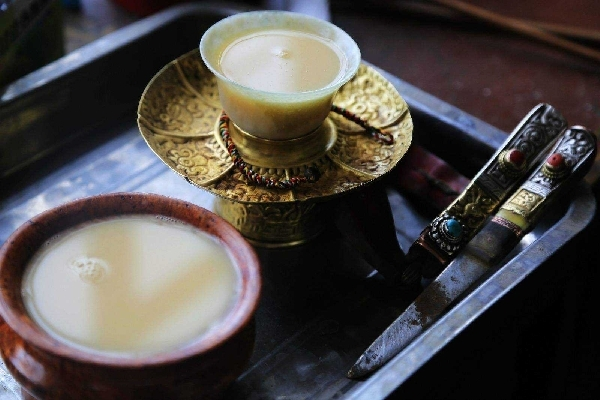 酥油茶・バター茶
