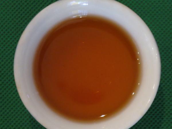 祁門毛峰の茶湯