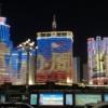 雲南省昆明の夜景