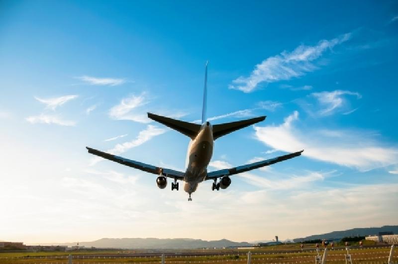 飛行機の着陸
