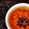 普洱茶20年醗酵茶葉 茶湯 イメージ