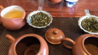 ジャスミン茶 飲み比べ