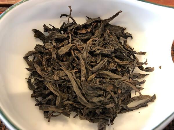 岩茶 水金亀 茶葉
