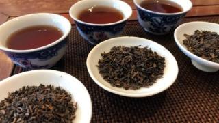 三種類のプーアル茶