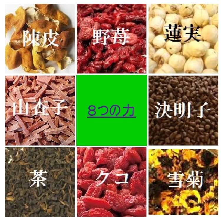 八宝茶の八つの力