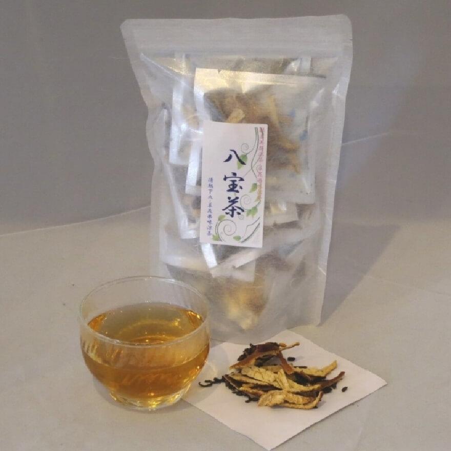 八宝茶 茶湯 材料