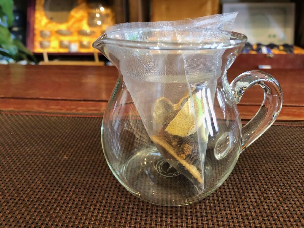 八宝茶の入れ方イメージ