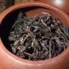 茶缶にあるプーアル茶 散茶の茶葉