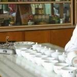 プーアル茶の鑑定状況