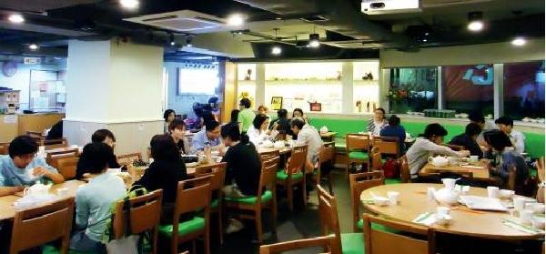 香港お客の多いレストラン