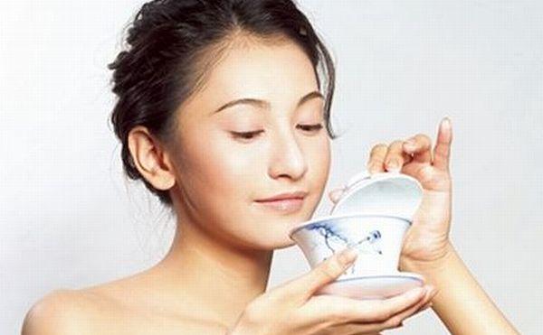 プーアル茶と美肌