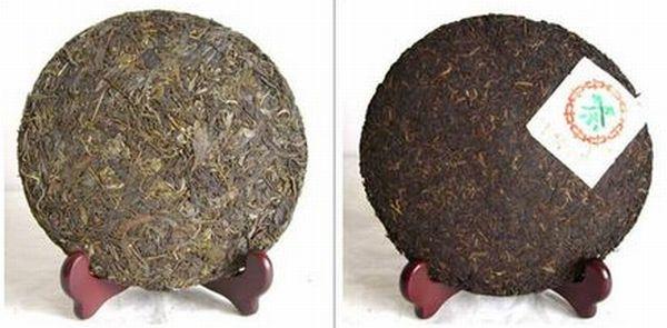 プーアル生茶と熟茶
