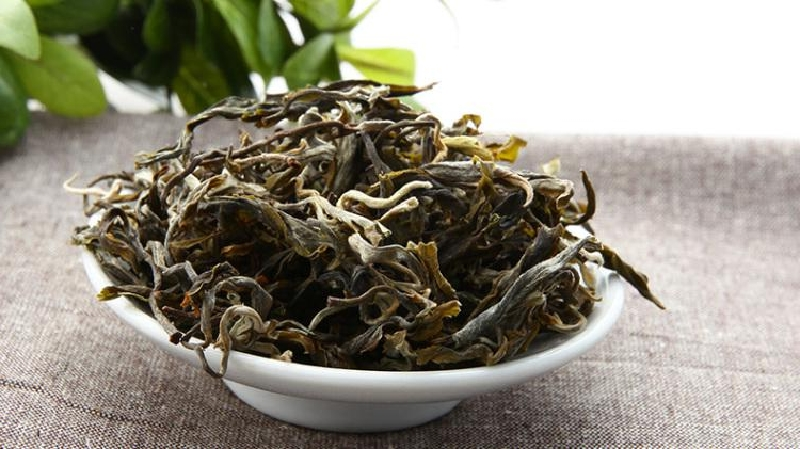 プーアル生茶 茶葉