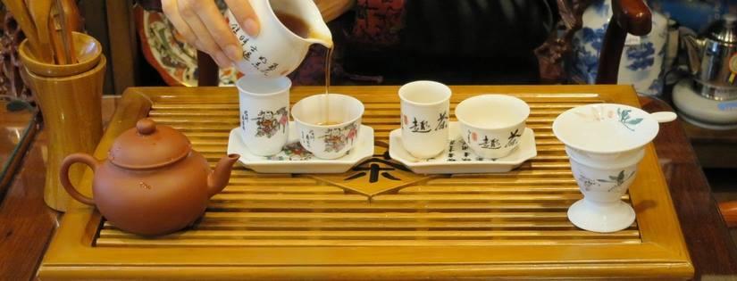 中国茶入れるイメージ