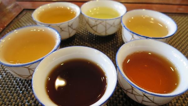 中国六大茶分類