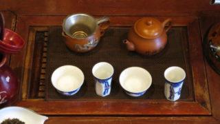 中国工夫茶器で淹れる 使う茶器は