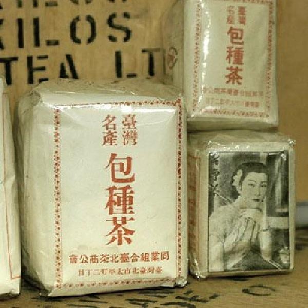 文山包種茶 古式パッケージ