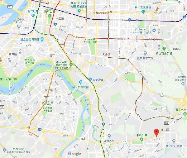 台北マップ