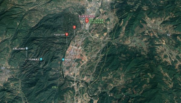 武夷山 周辺地図
