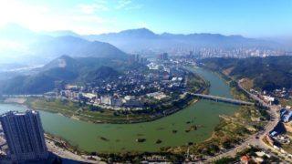 安渓の景色