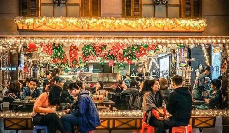広州のレストラン外観