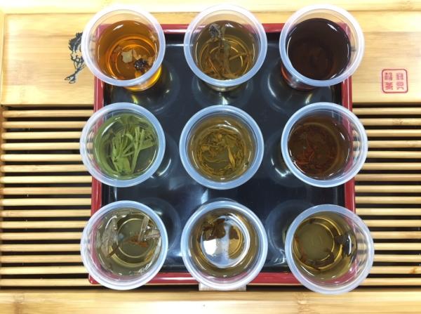 様々な中国茶
