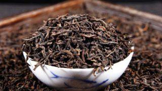 黒茶の茶葉