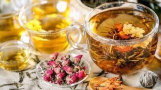いろいろな花茶のイメージ