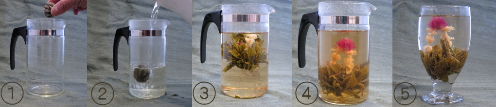 工芸茶の淹れ方