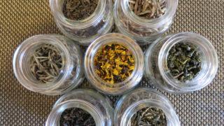 さまざまな中国茶 六大茶