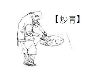 烏龍茶製法 炒青