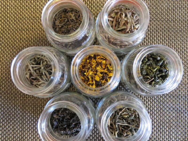 中国茶六大茶分類