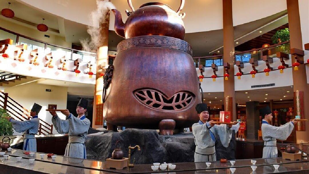 中国茶のセレモニーイメージ