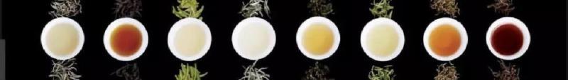 中国茶を発酵具合で分類する