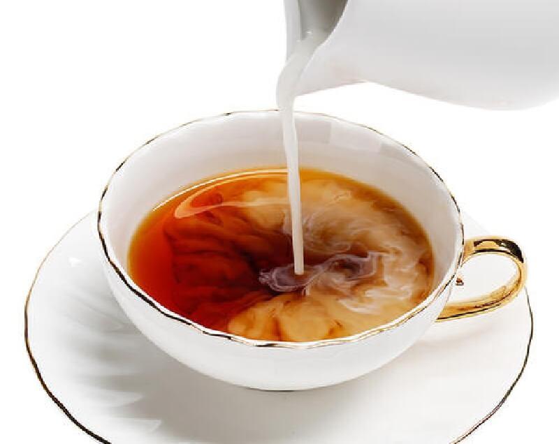 美味しそうなミルクティ