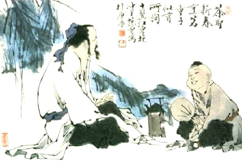 茶聖 陸羽 イメージ画像