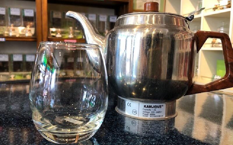 グラスで簡単に誰でもできる 中国茶の淹れ方 道具