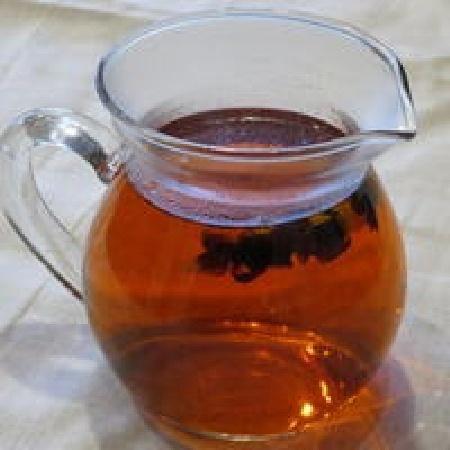 雪菊茶の淹れ方4