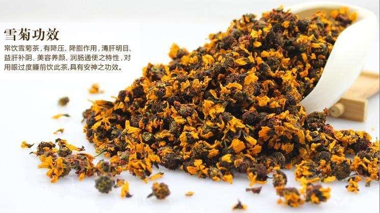 雪菊茶の薬効