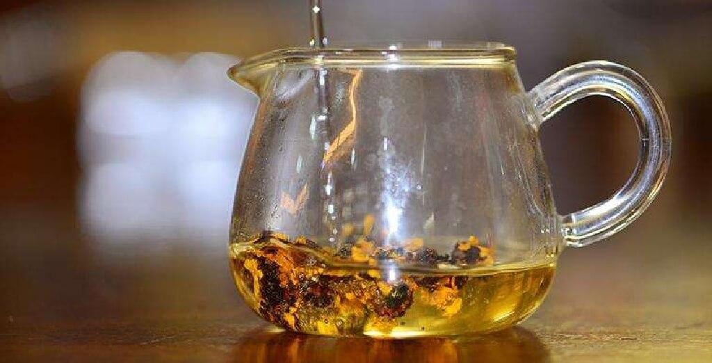 雪菊茶の淹れ方